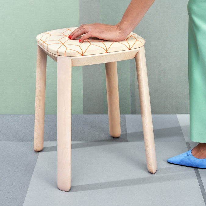 Covered Stool