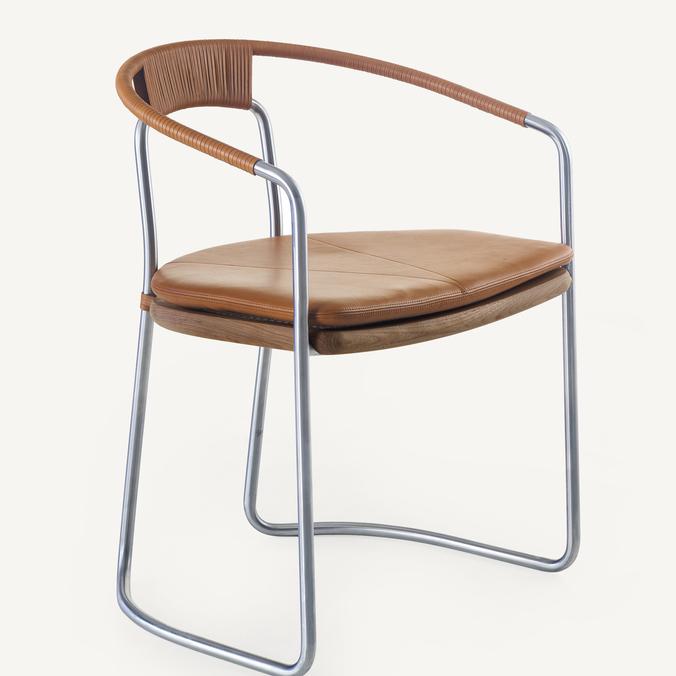 Geometric Dining Chair