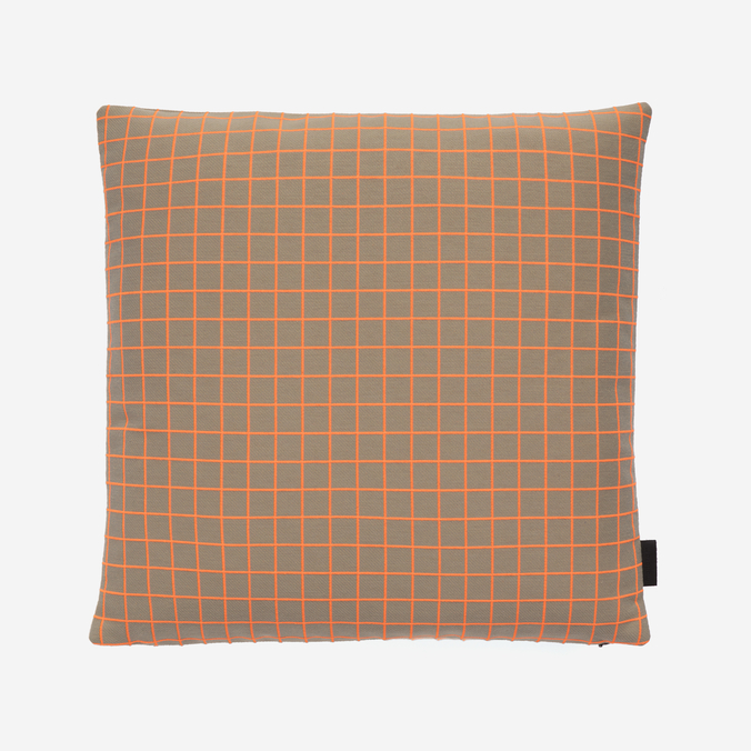 Bright Grid Pillow