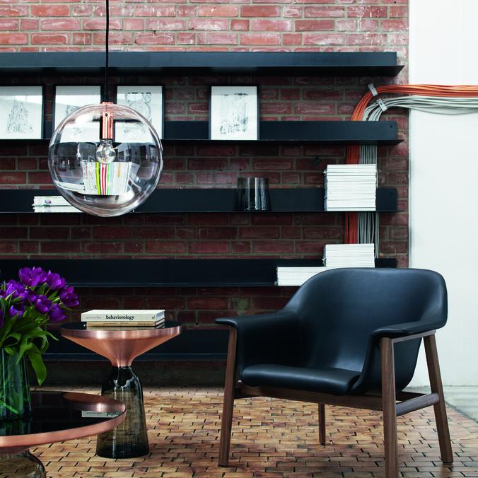 Bell Table Coffee Table Copper, Bell Table Side Table Copper, Sedan, Selene, Vase