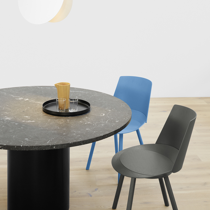 Hiroki Table, Houdini Chair, North