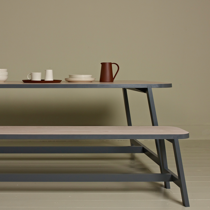 Dining Table, Bench Three